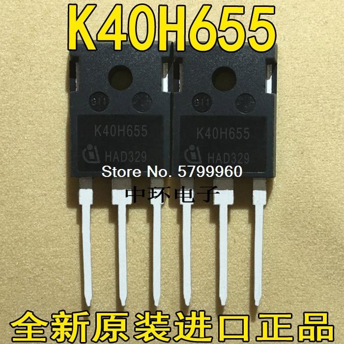 10 pçs/lote IGW40N65H5 G40H655 transistor
