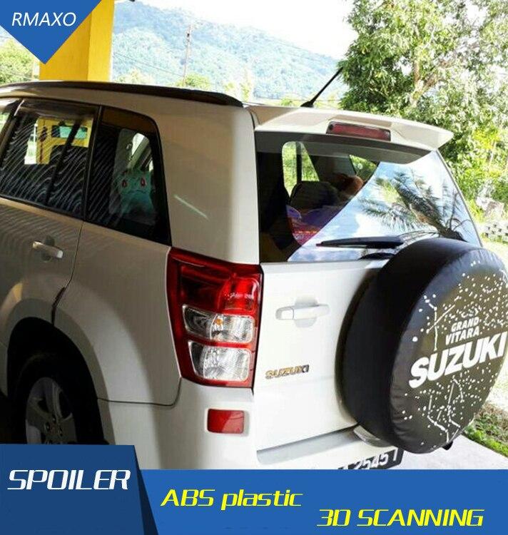 Alerón trasero de Material ABS para Vitara, alerón trasero de coche swift con imprimación de Color, alerón trasero para Suzuki Vitara Spoiler 2009-2013