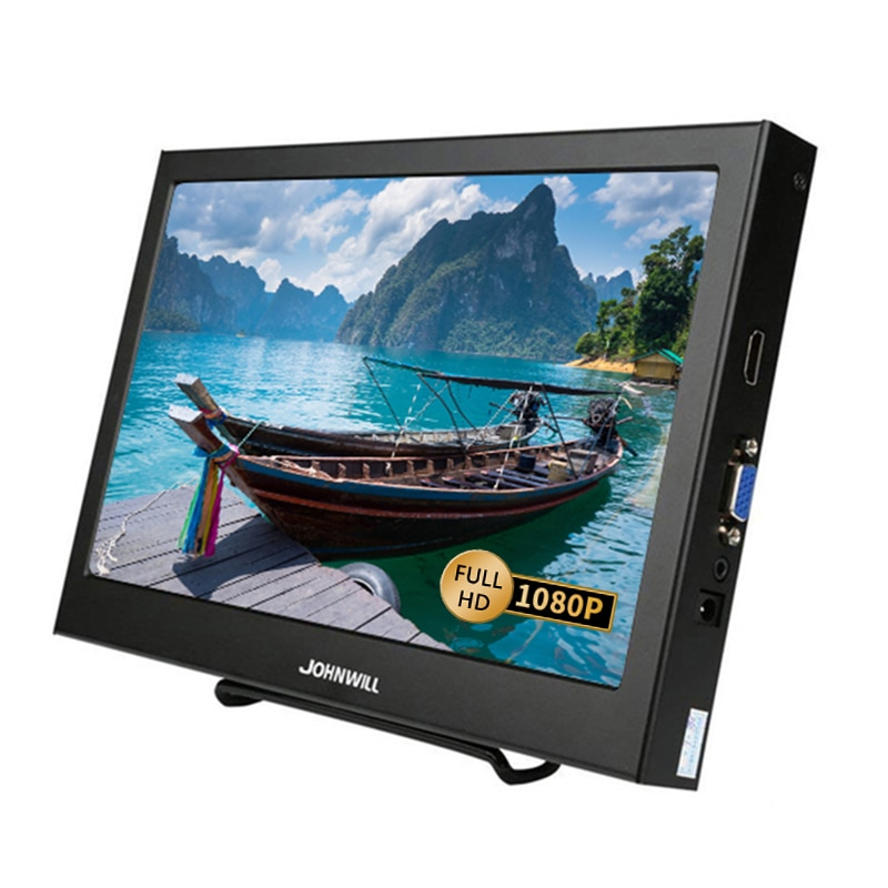 11.6 HD 1080P IPS LCD Portable monitor for PS3 PS4 XBOx360 with VGA HDMI Interface 10.1 Inch Computer Gaming Monitor PC