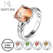 Zultanite Color Change Turkish Zultanite Sterling Silver Women's Ring S925 Fine Jewelry Women's Gift