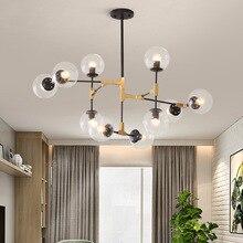 Europe du nord lampes et lanternes ambiance domestique une lampe de salon moderne concis originalité personnalité molécule magique