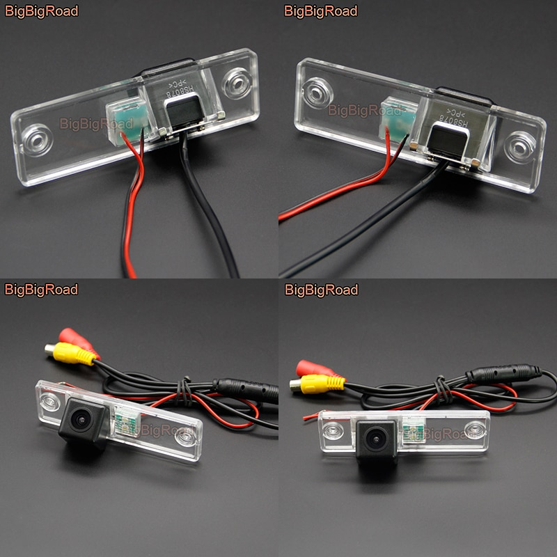 BigBigRoad coche HD cámara CCD de Vista trasera Auto de Monitor de ángulo ancho para SW4 Subaru Impreza WRX sedán Forester 2010 de 2011 a 2012