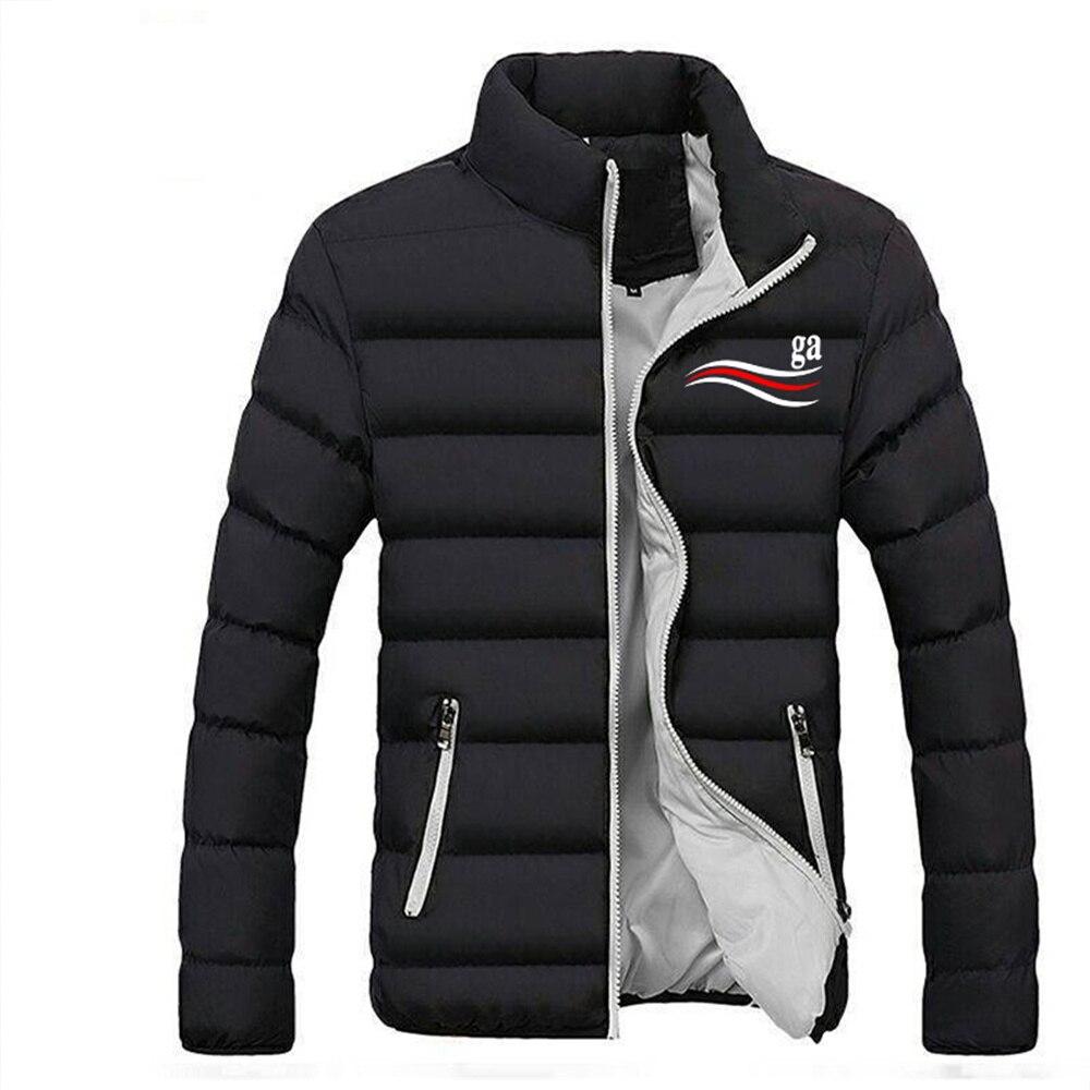 Осенне-зимние мужские популярные гоночные куртки, толстый пуховик, мужская спортивная модная мужская куртка на молнии, прямые продажи