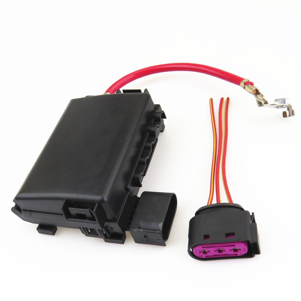Автомобильный аккумулятор FHAWKEYEQ, коробка плавких предохранителей в сборе + провод с вилкой для VW Beetle Bora Golf MK4 Jetta MK4 Seat Leon 1J0937617D 1J0 937 773