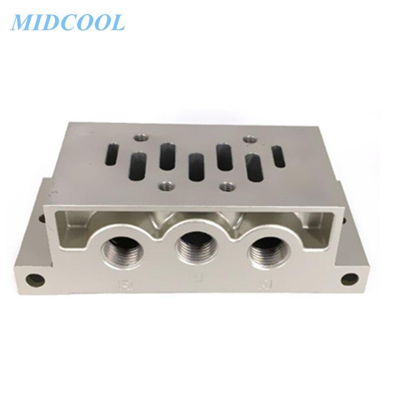 Válvula de solenoide colector ESV serie Base ESV200 ESV300 ESV400 ESV600 1M 2M 3M placa