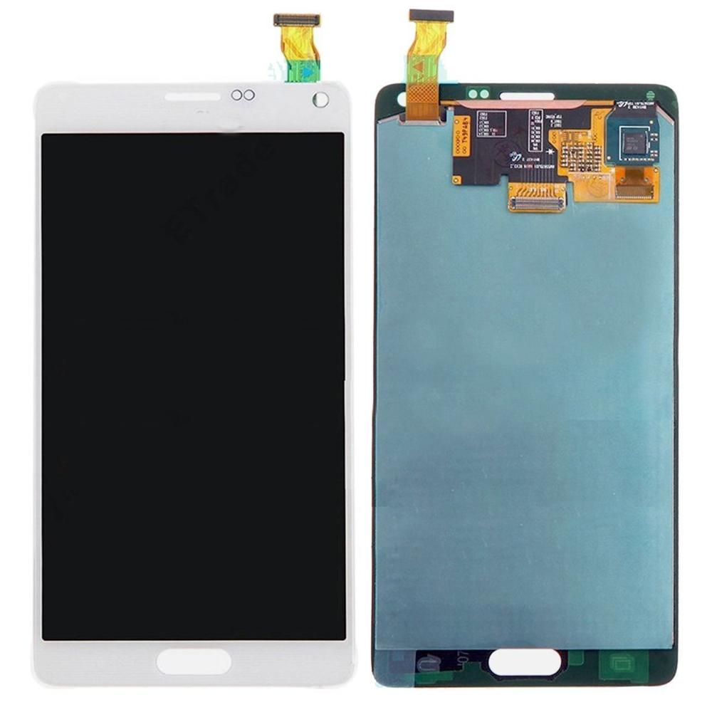 ORIGINAL 5.7'' Burn Shadow LCD Replacement For SAMSUNG Galaxy Note 4 Note4 N910  N910A N910F LCD Display Touch Screen Digitizer enlarge