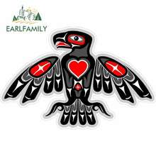 EARLFAMILY 13cm x 8,6 cm Für Totem Adler Native American Aufkleber Auto Aufkleber Kreative Aufkleber Anime Decals Geeignet Für GTR EVO