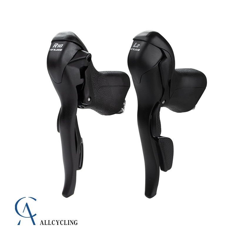 Road Bicycle Dual-Control Lever Suitable For Bike With 22.2-23.8mm Handlebars 2x10 Models Of 10-Speed Bike Brake Core Gear Lever