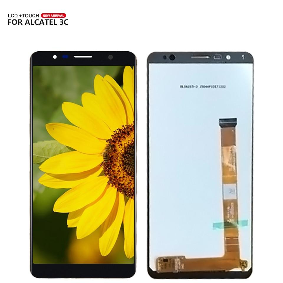 Pantalla LCD AAA para Alcatel 3C 5026 5026A 5026D OT5026 pantalla LCD MONTAJE DE digitalizador con pantalla táctil + herramienta