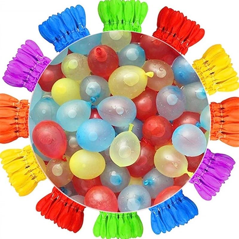 888 قطعة بالونات قنابل المياه سريعة ملء بلالين سحرية في الهواء الطلق لعب للأطفال ألعاب مائية الصيف شاطئ الكرة لعبة أطفال حفلة هدية