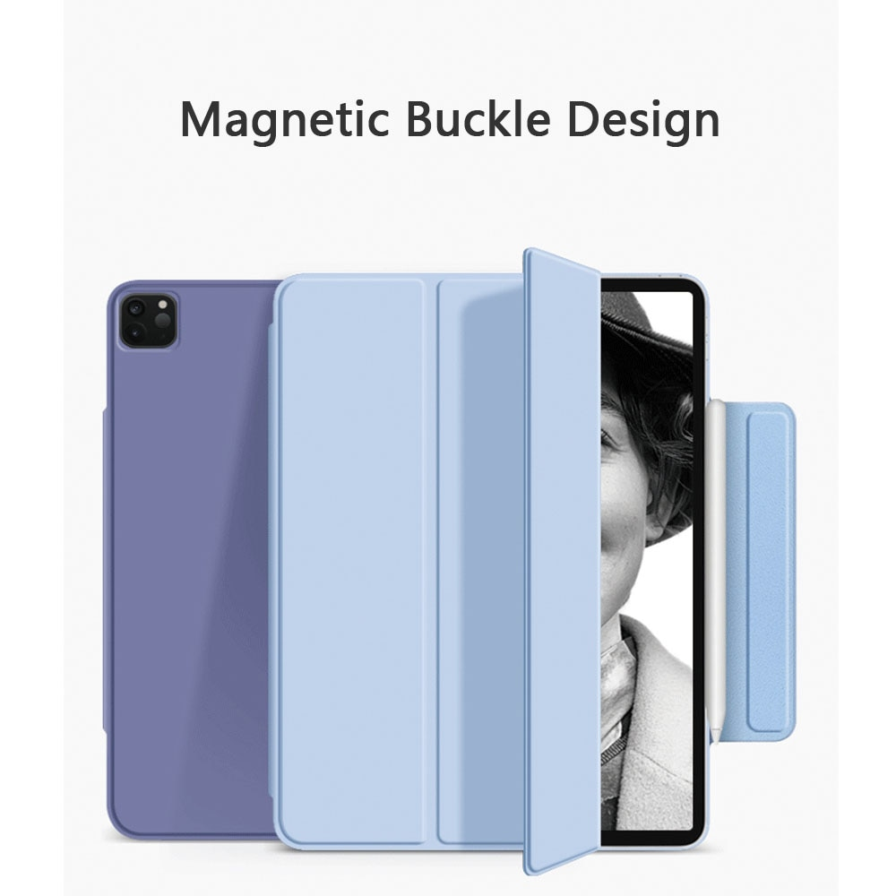 For Ipad Pro 11 Case 2020  for 12 9 Air4 Funda Magnetic Smart Cover