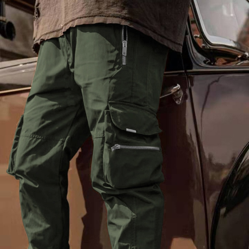 In 2021 Europe and the United States casual men's sports pants nationwide popular pants