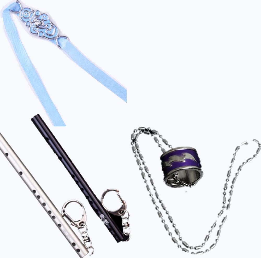 Llavero para Cosplay, accesorios para mujer, accesorios para mujer, anillo de diadema con accesorios para regalar, banda fantasma Wei Wu Xian