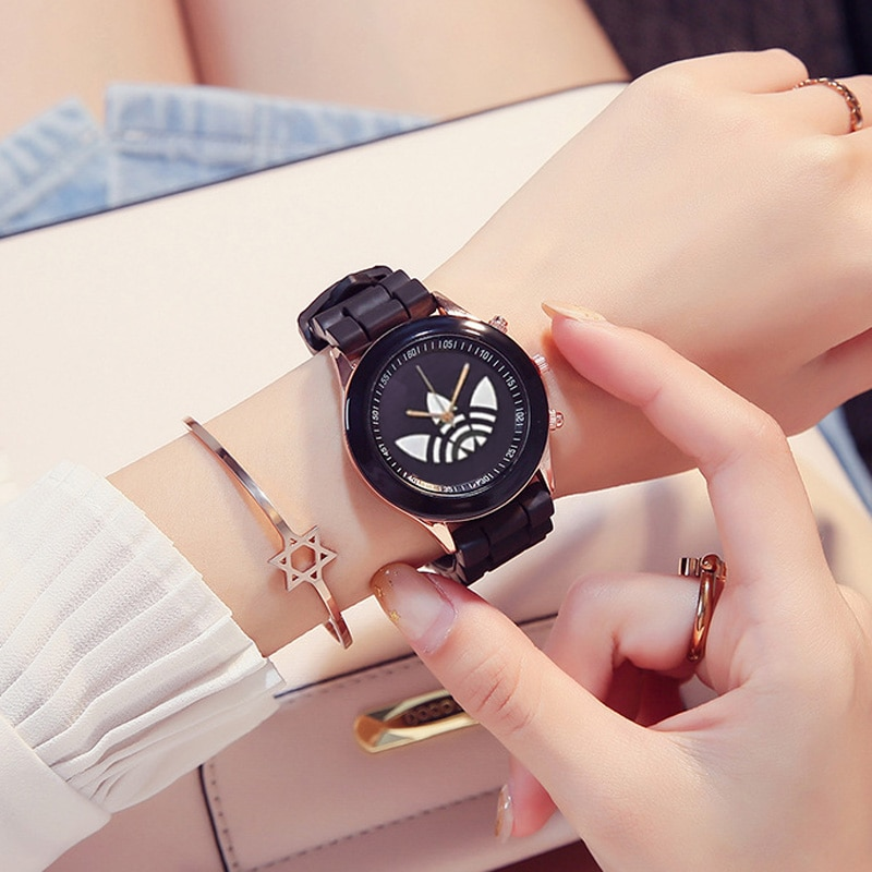 Fashion Women Watches Cream Candy Color WristWatch Korean Silicone Jelly Watch Reloj Mujer Clock for women Ladies Student watch