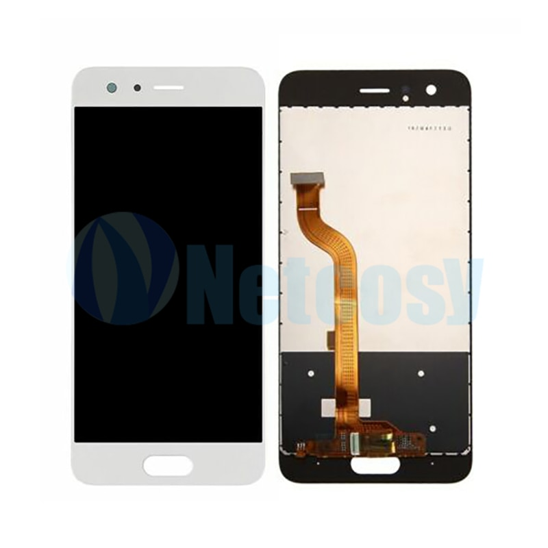 "Para Huawei Honor 9 STF-L09 STF-AL10 STF-AL00 STF-TL10 pantalla LCD de montaje de digitalizador con pantalla táctil para Honor 9 5,15 ""pantalla LCD de pantalla"