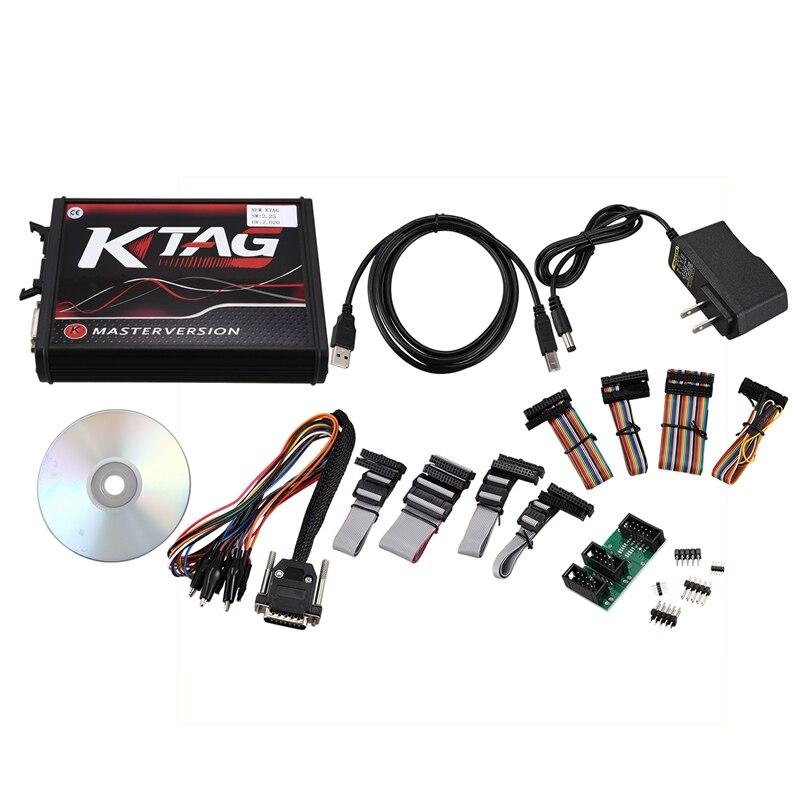أداة ضبط الرقاقة الرائجة KTAG V7.020 V2.23 مجموعة أدوات البرمجة النسخة الرئيسية مع رمز غير محدود