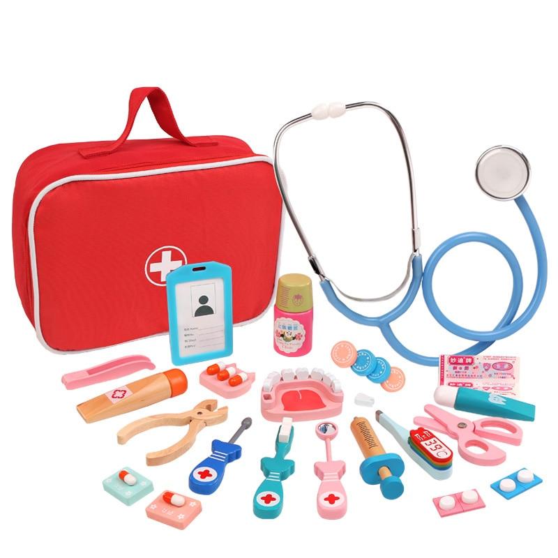 brinquedo de simulacao de medicamentos para criancas brinquedo de madeira para educacao