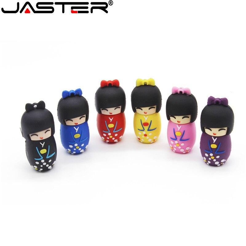 JASTER la muñeca con kimono USB flash drive USB 2,0 Pen Drive...