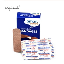 60 Pcs/3boxes 2.5cmX7.6cm Breathable Sterile Heavy Duty Adhesive Bandages Band Aid First Aid Kit For