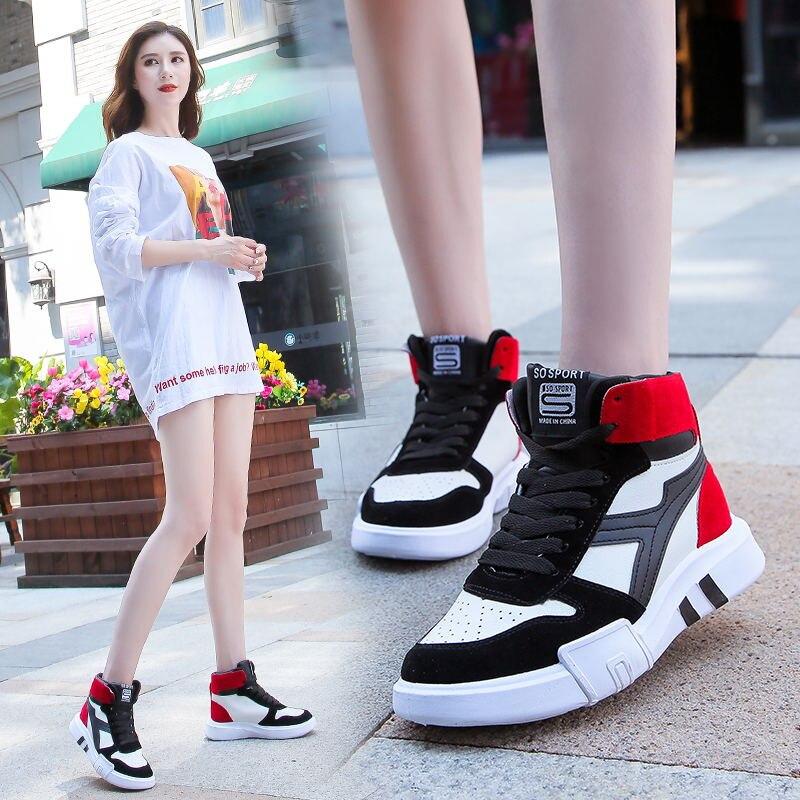Zapatos negros de diseñador de mujer Zapatillas de invierno de alta calidad calzado de mujer zapatos de mujer luz cómoda de piel blanca negra caminar fresco