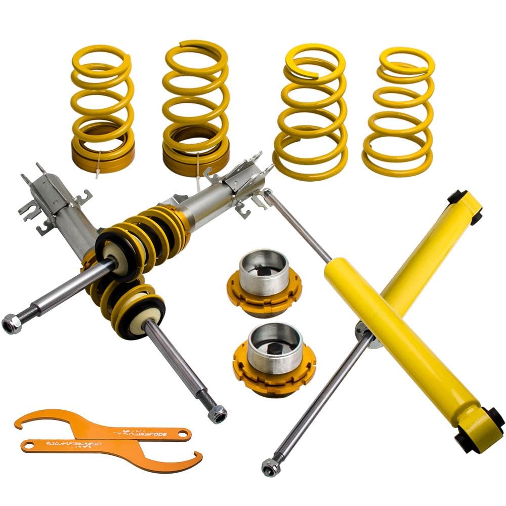 COILOVER for FIAT PUNTO MK3 199 2005-2012 Adjustable Suspension Lowering for Opel Corsa D Suspensions Spring Struts SHocks