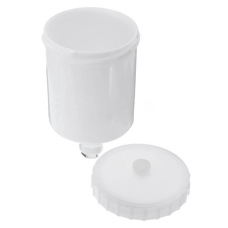 1pcs Spray Paint Cup Plastic Sprayer Cup Spray Gun Cup Replacement Pot Spray Gun Cup Replacement Pot For Spray Gun Parts 600ml