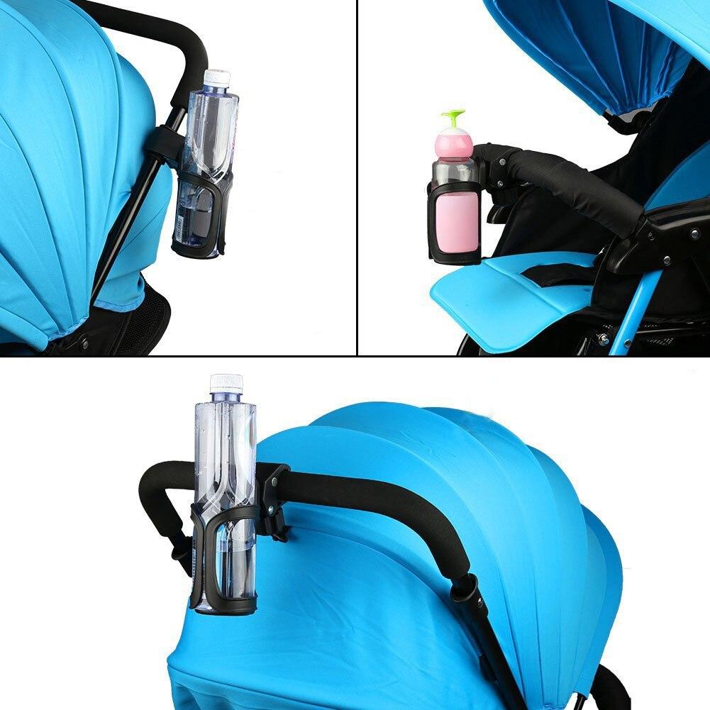 1 шт., коляска для детской коляски, держатель для бутылки, автомобильный универсальный держатель для напитков, черные автомобильные аксессуары