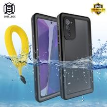 Водонепроницаемый чехол Shellbox для Samsung Note 20 Ultra S20 Plus, уличный противоударный чехол для Samsung A51, Note 10, S10, S9 Plus, для плавания