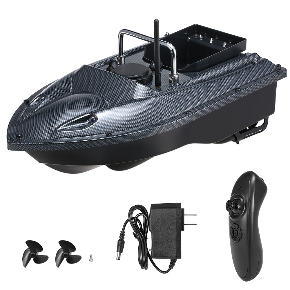 Smart Fishing Bait Boat Remote Control Fishing Feeder Toy RC Fishing Boat Remote Range Fish Finder Ship Speedboat 540 Yards
