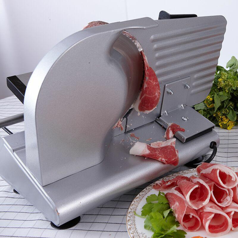 Rebanador eléctrico de carne 200W escritorio del hogar Cordero rebanada verduras pan Hot Pot Ham máquina de carne