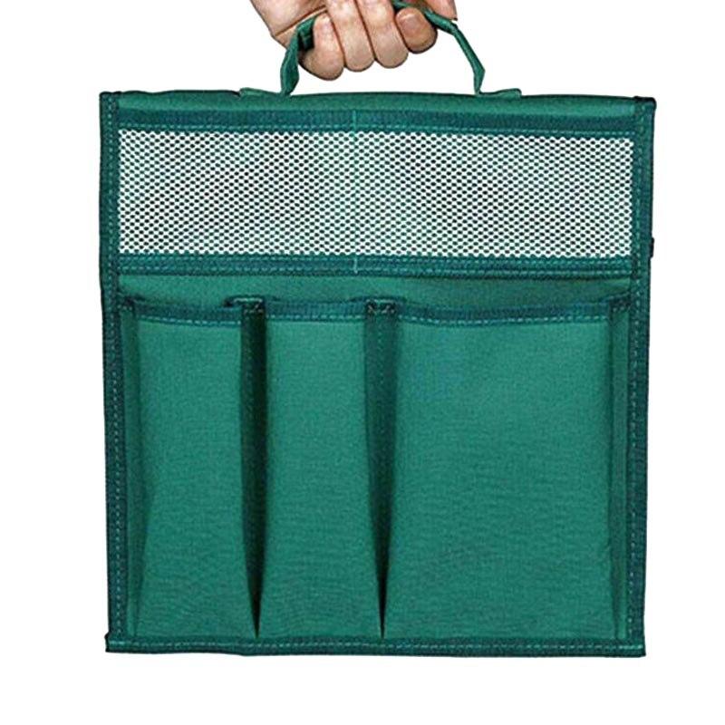Bolsas de herramientas Oxford para arrodillarse en el jardín de 12,2x11,8 pulgadas con asa para arrodillarse, bolsa de herramientas de jardín LBShipping