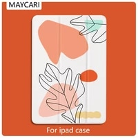 2018 ipad mini case color leaf for magnetic ultra slim smart cover for ipad 11 inch case support wireless charge for ipad pro