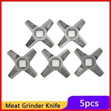 5 uds cuchillo eléctrico cuchilla picadora de carne picadora 8 # MDP-118 espaà a encaja para Zelmer 987,94 987,83 triángulo ZMM. Electrodoméstico de cocina