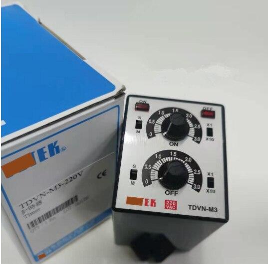 TDVN-M3-220V marke neue original zeit relais timer