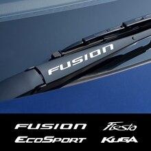 4 pièces voiture essuie-glace autocollants pour Ford Fiesta Mondeo Fusion Explorer évasion Shelby Edge Ecosport Kuga Mustang accessoires en vinyle