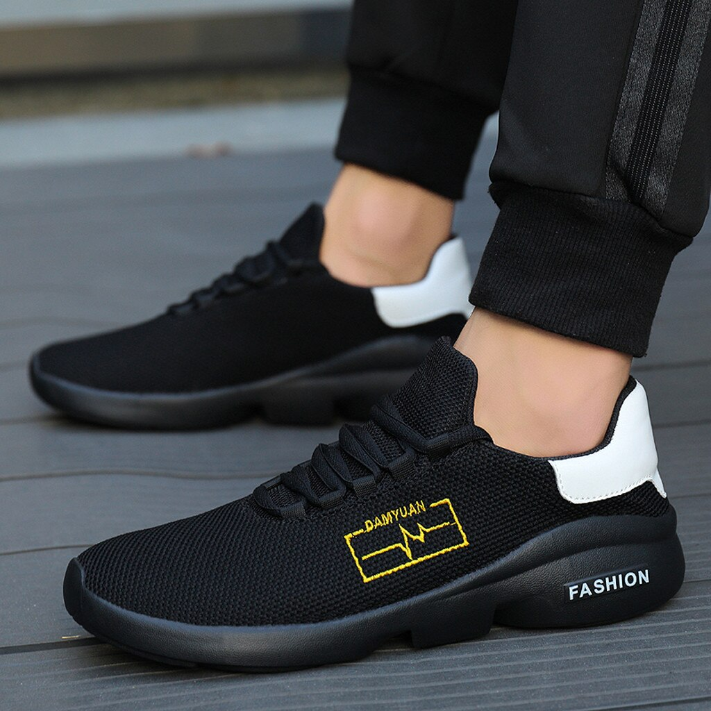 Zapatillas SAGACE 2020 para hombre, zapatillas transpirables con tejido de malla para exteriores, zapatillas ligeras para correr, calzado para hombre, zapatillas de entrenamiento