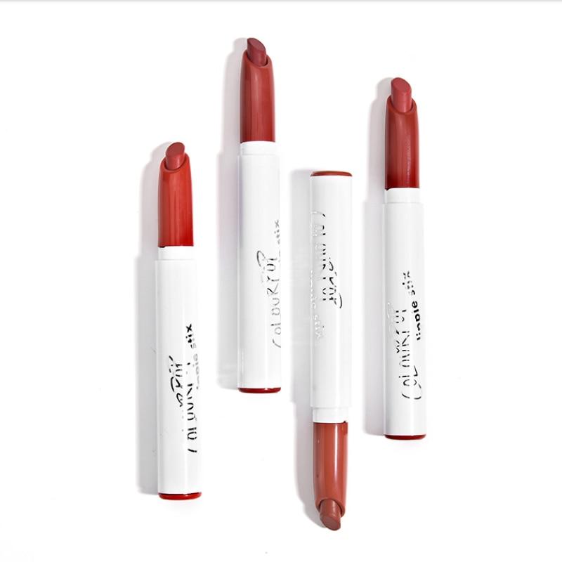 Lápiz labial de maquillaje colorpop duradero resistente al agua crema mate lippie stix