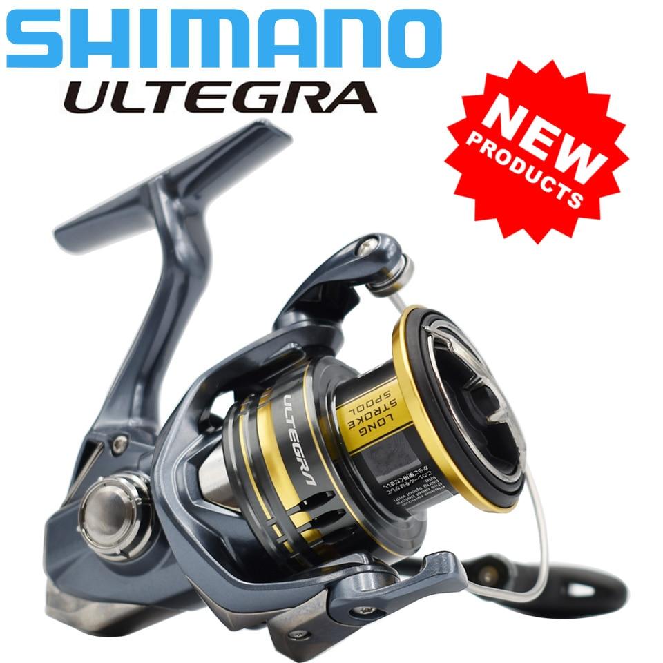 SHIMANO-بكرة صيد ULTEGRA ، نظام مقاوم للماء ، معدات صيد سمك الشبوط ، 2021/1000/C3000/2500/C5000XG ، 4000
