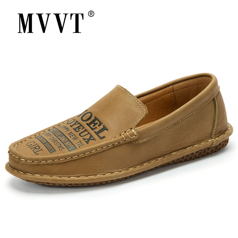 laisumk genuine leather casual shoes fashion men shoes breathable summer comfortable men real leather shoes slip on moccasins Comfortable Men Casual Leather Shoes Slip On Loafers Leather Men Shoes Breathable Flats Hot Sale Driving Shoes Moccasins