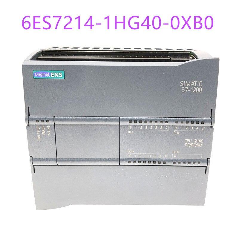 جديد الأصلي 6ES72141HG400XB0 S7-1200 وحدة المعالجة المركزية CPU 1214C 6ES7214-1HG40-0XB0 المدمجة CPU العاصمة/DC/تتابع 6ES7 214-1HG40-0XB0
