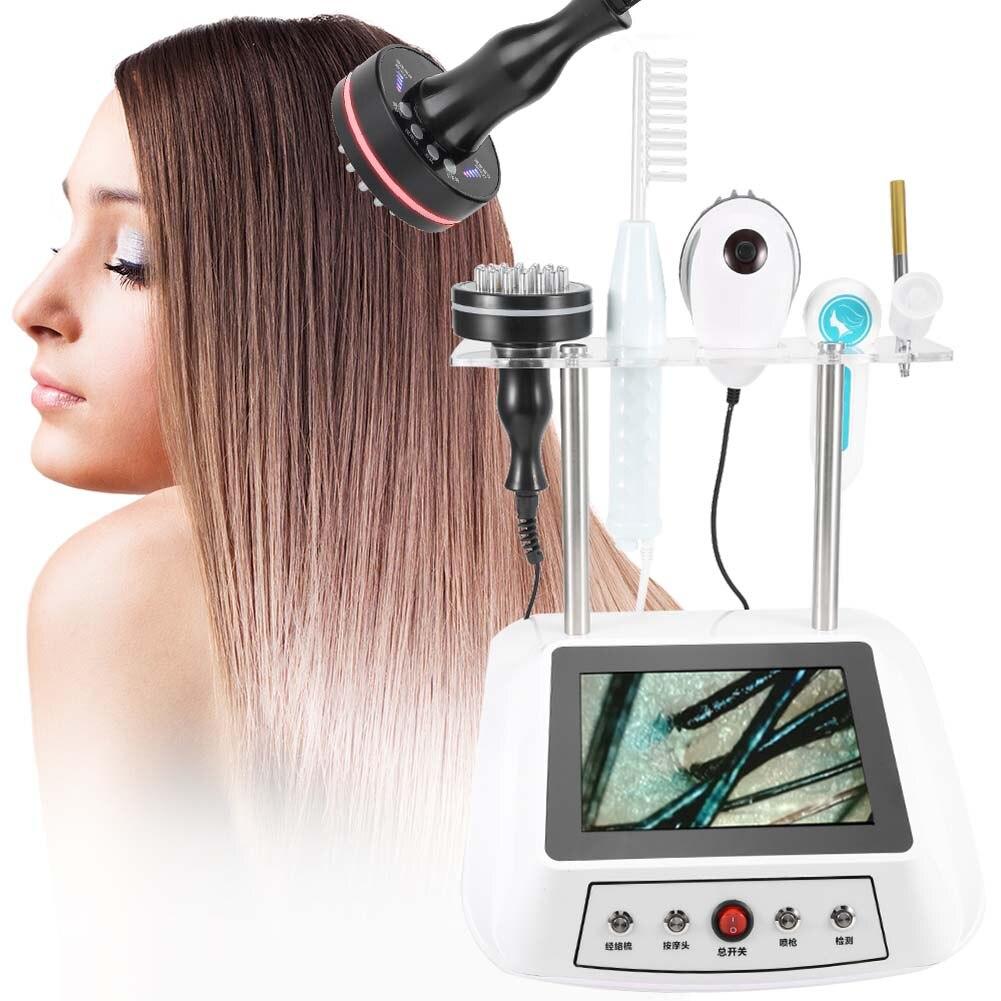 1 Set Multifunctional Scalp Care Instrument Nanometer Spray Hair Therapy Machines Head Skin Care Device Nano Sprayer Hair Salon