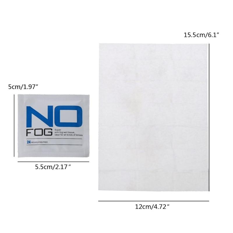 30 шт. очки Анти-туман влажные салфетки в индивидуальной упаковке Одноразовые Линзы для очков салфетки X7YA