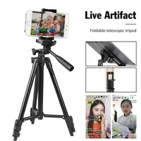 Universal Tripod Stand Phone Camera Tripod Lightweight Travel Mobile Phone Stand Holder For IPhone Xiaomi HUAWEI Gopro
