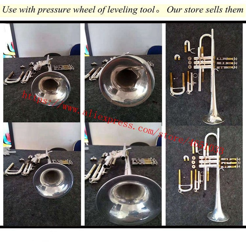 Trumpet repair and maintenance tool  Brass instrument maintenance tool  Sag repair  Large roller  rotatable with taper enlarge
