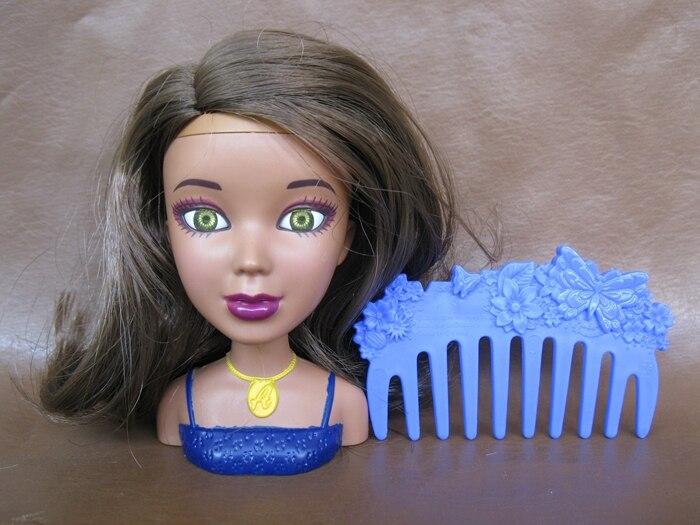 Bonito y raro maquillaje de niña con espejo muñeca cabeza muñeca cuerpo parte figura juguete modelo niños niña Regalo de Cumpleaños colección limitada
