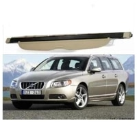 high qualit car rear trunk cargo cover security shield scree fits for volvo v70 2012 2013 2014 2015 2016 2017black beige