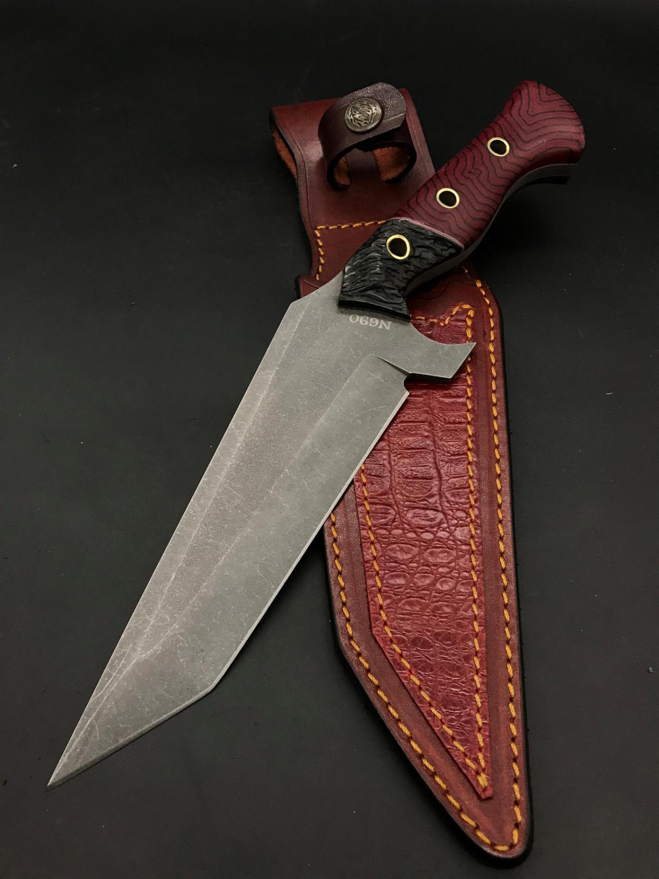BOHLER N690 Camping Knife BB107-2