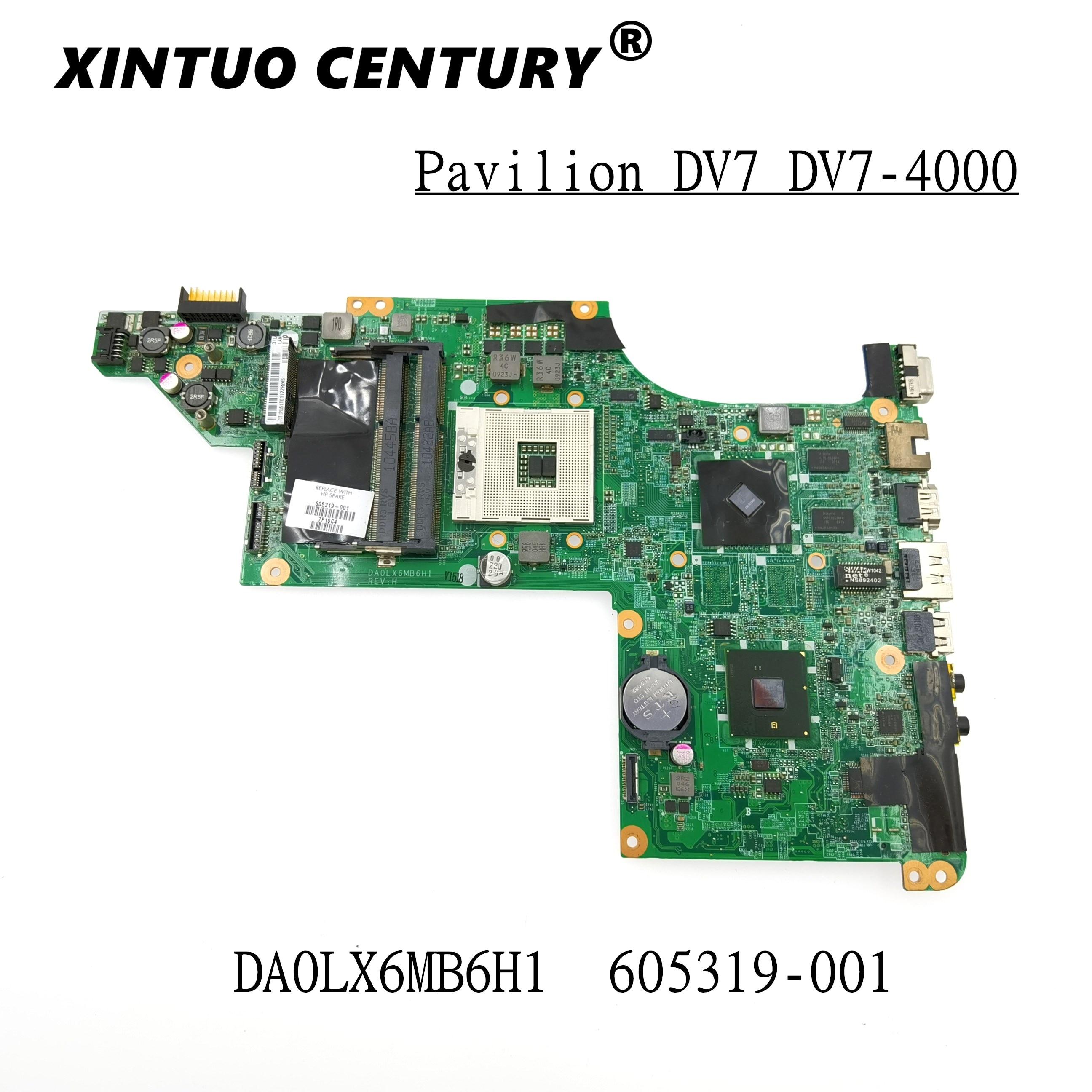 605319-001 Tablero Principal para HP Pavilion DV7 DV7-4000 placa base de ordenador...