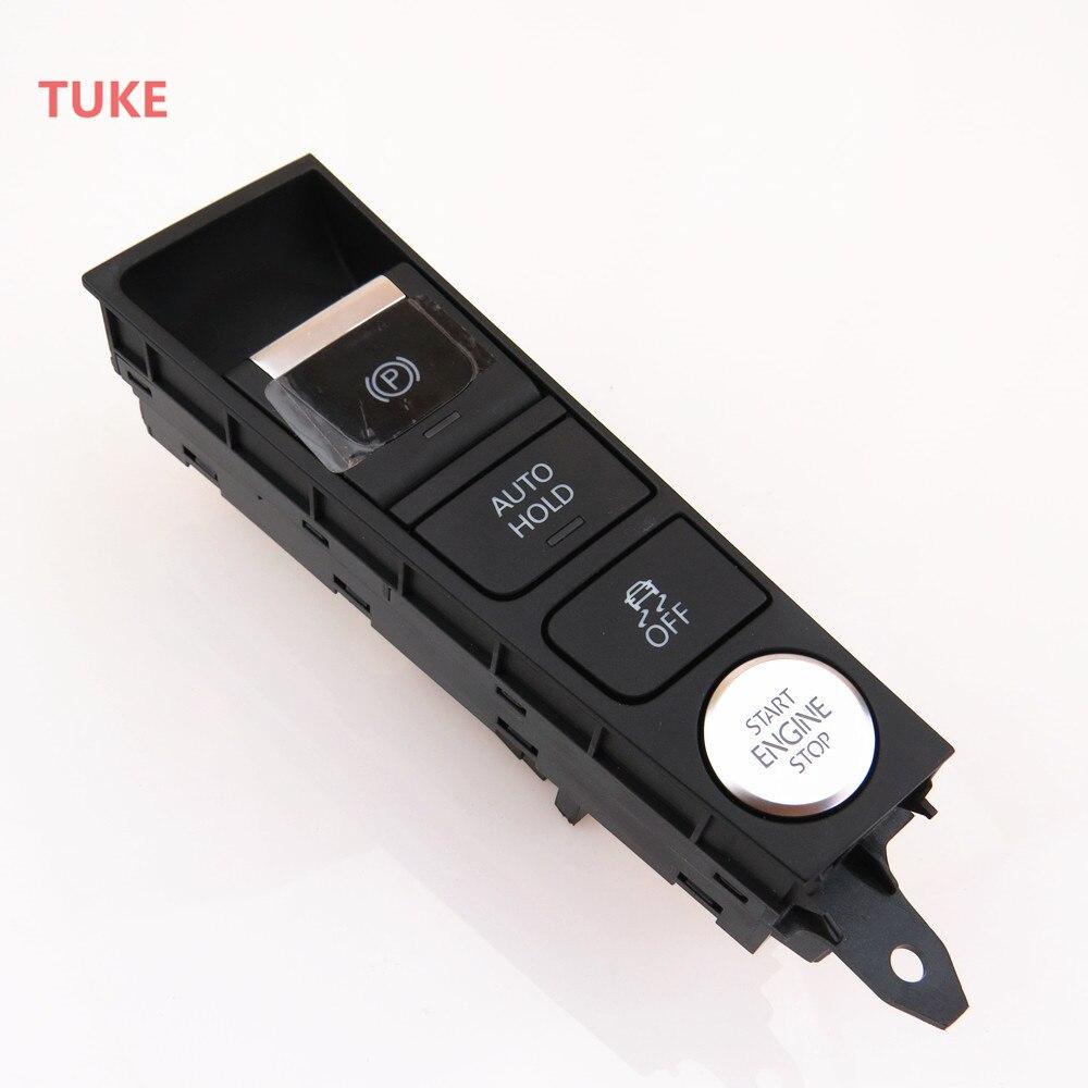Автомобильный держатель RWSYPL ESP, кнопка ручного тормоза для запуска/остановки двигателя ASR для CC Passat B7 3AD 927 137 B 3AD 927 137 A