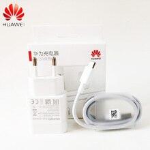 Chargeur rapide dorigine Huawei 18W QC2.0 9V 2A prise ue Usb3.1 câble type-c adaptateur rapide pour P30 lite P9 P10 P20 Nova 3 4 4e